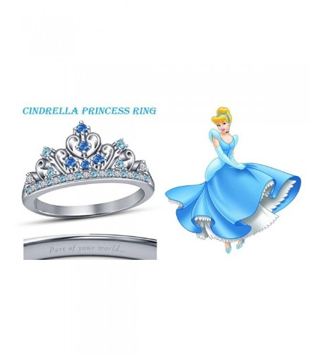 Multi Stone Cinderella Princess Engagement Wedding