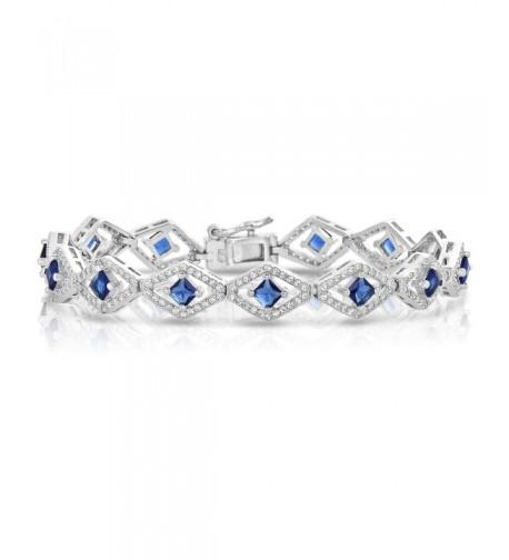 Sterling Silver Zirconia Tennis Bracelet