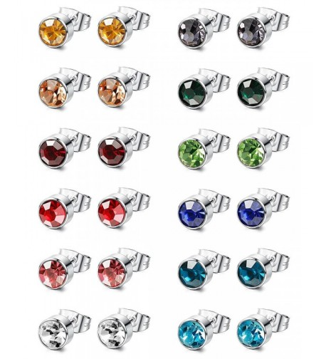 Jstyle Pairs Stainless Earings Piercing