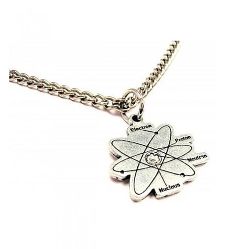 ChubbyChicoCharms Atom Single Charm Necklace
