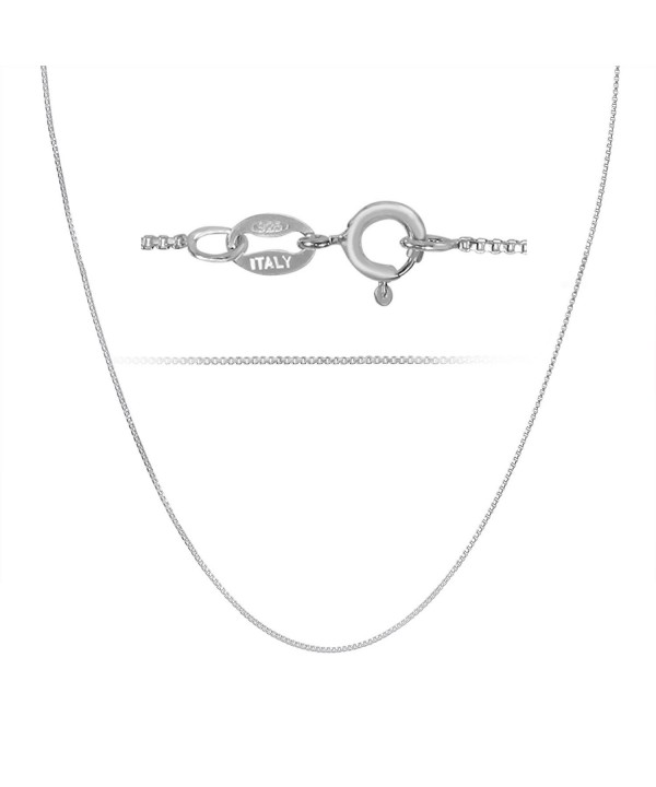 Rhodium Plated Sterling Silver Necklace