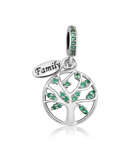 LovelyCharms Family European Bracelets Pendants