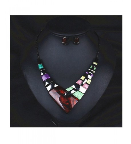 Hamer Womens Multiple Splice Necklace