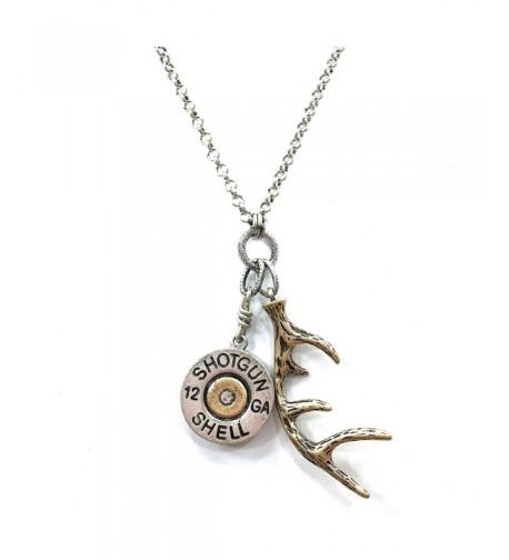 Western Peak Shotgun Necklace Earrings