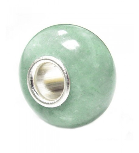 Natural Aventurine Sterling Silver European