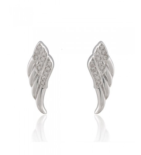Sterling Silver Sparkling Zirconia Earrings