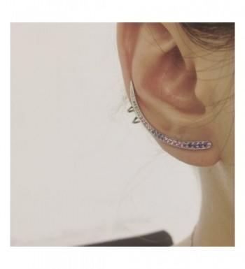 7debdb4b07c19 Unicorn Ear Crawler Cuff Sterling Silver Piercing Spike Stud Wrap Sweep Ear  Cuff Crawler Earrings Party Ball CO184AGGL2Y