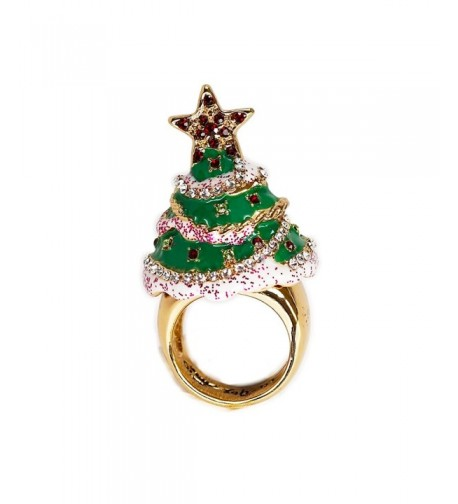 Ritzy Couture Christmas Cocktail Goldtone