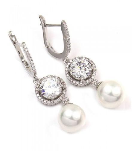 FC JORY Zirconia Earrings Weddings