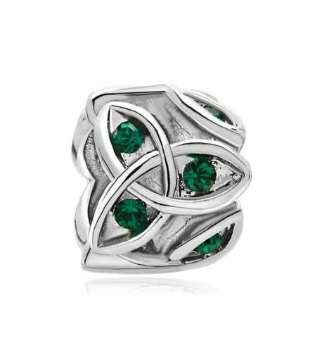 LovelyJewelry Celtic Claddagh Birthstone Bracelets