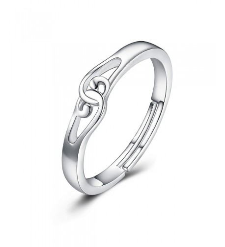 Sterling Silver Infinity Knot Adjustable