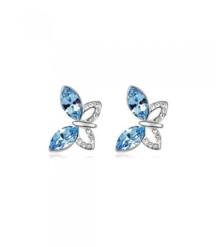 Crystal Diamond Butterfly Earrings SWAROVSKI
