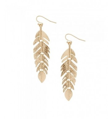 Humble Chic Floating Feathers Earrings
