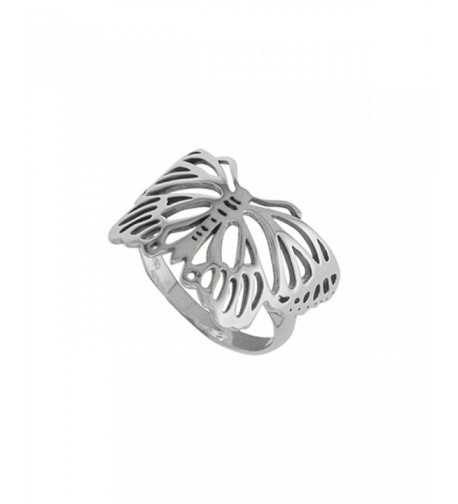 Boma Sterling Silver Butterfly Ring