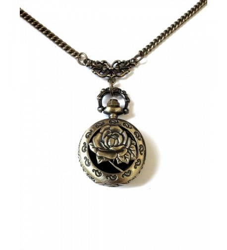 Vintage Locket Bronze Memory Necklace