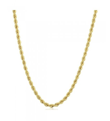 Yellow Filled Unisex 2 1mm Necklace
