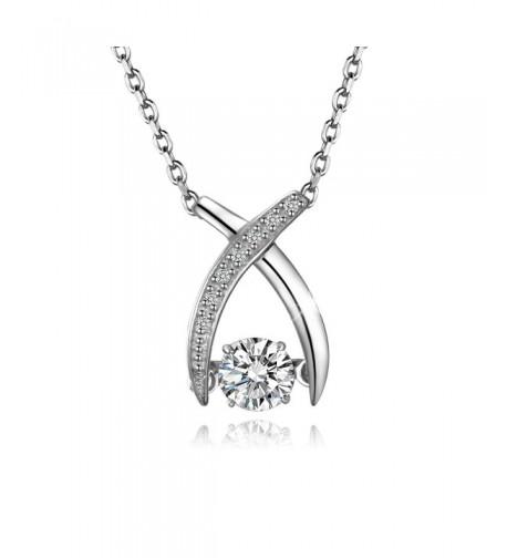 T400 Jewelers Wishbone Sterling Swarovski