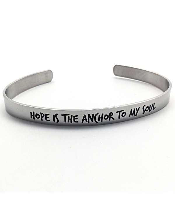 Hope Anchor My Soul Bracelet