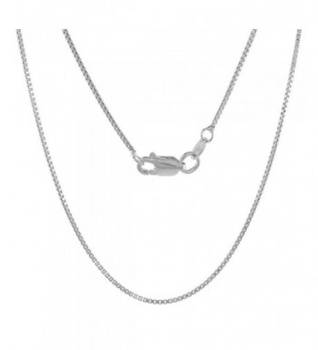 Sterling Silver Necklace lobster Nickel
