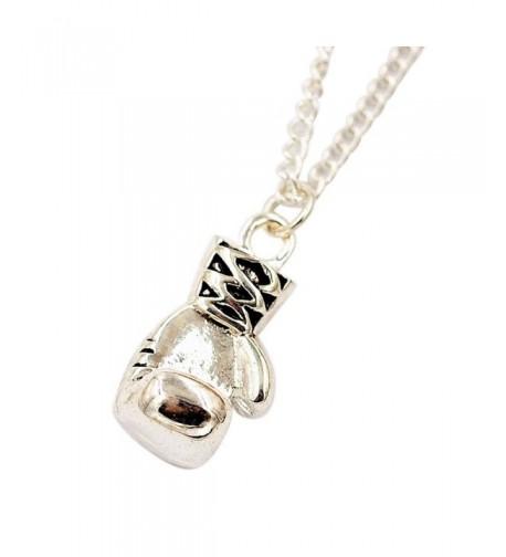 Susenstone Women Girl Necklace Silver