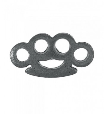 Brass Knuckles Lapel Pin Count