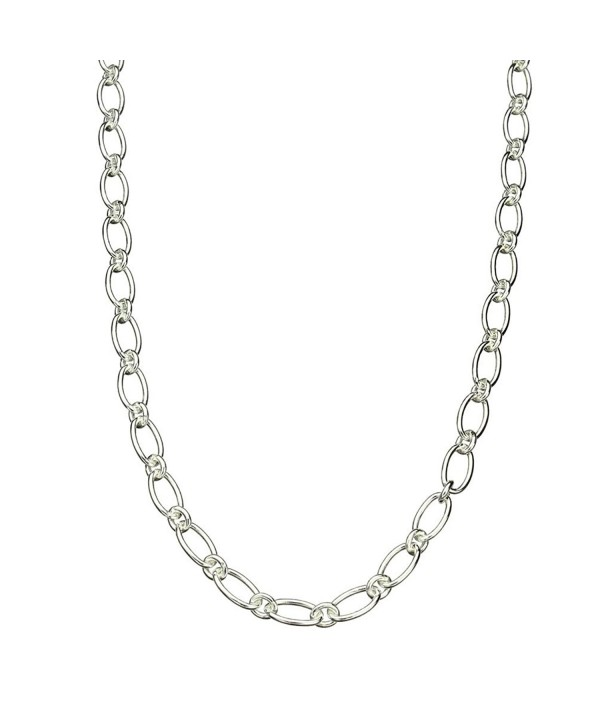 Sterling Silver Necklace Toggle Nickel