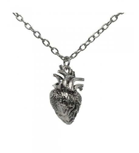 Anatomical Necklace Anatomic Pendant Nickel