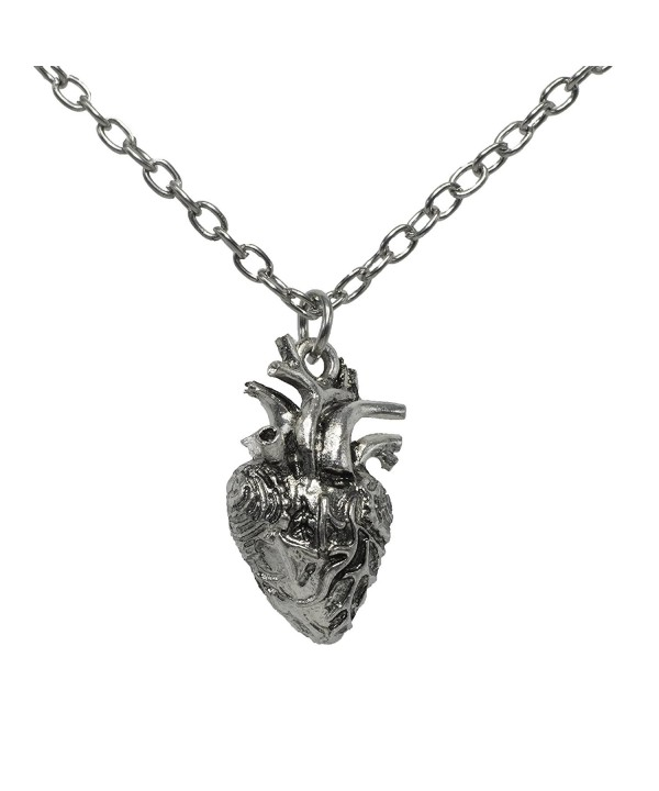 Anatomical Necklace Anatomic Pendant Nickel