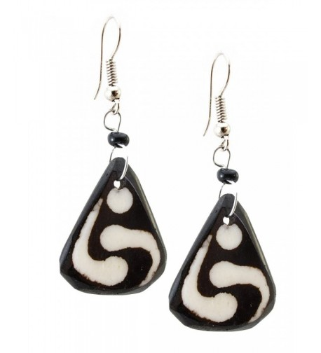 Maisha Beautiful African Triangle Earrings