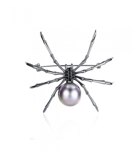 Mytys Jewelry Womens Spider Pendant