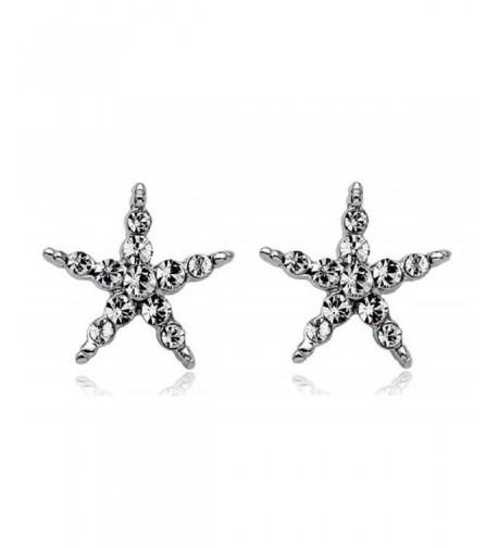 ROMANTIC Zirconia Starfish Gleaming Comfor fit