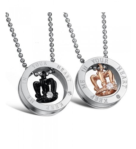Matching Accessories Titanium Stainless Necklace