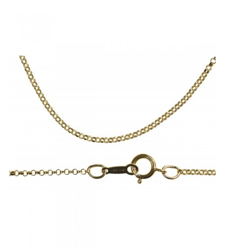 Gold Fill Chain 0 8mm Inch