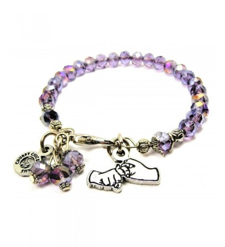 Friendship Language Splash Bracelet Lavender