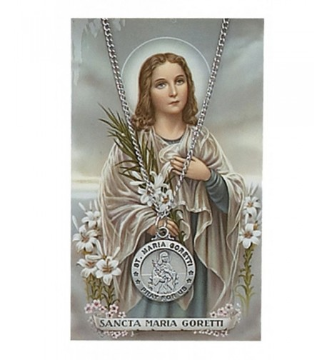 Adult Pewter Goretti Necklace Prayer
