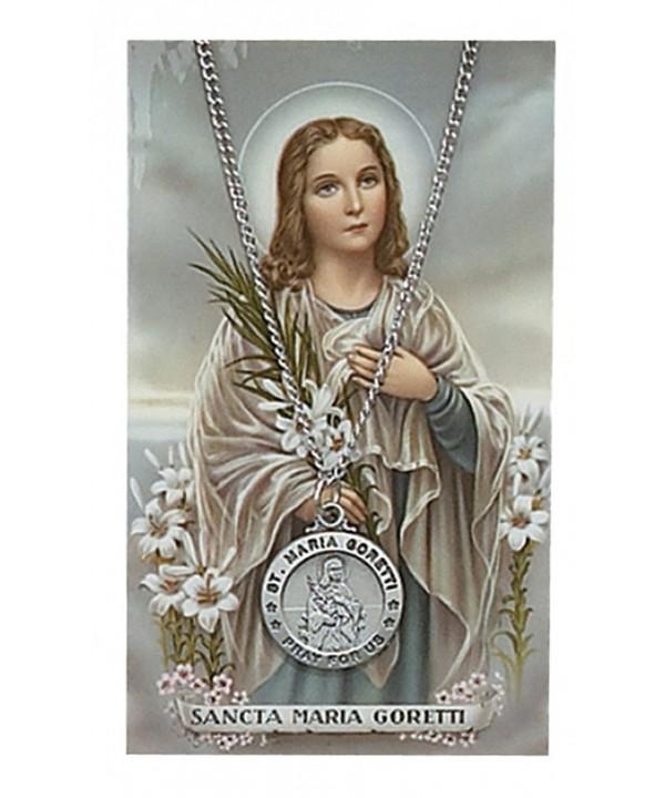 Adult Pewter Goretti Necklace Prayer