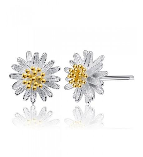 DDLBiz 1Pair Flower Earrings Jewelry