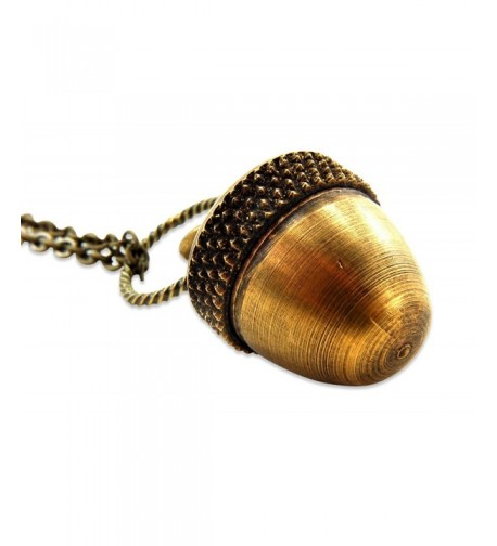 Antique Capsule Pendant Necklace Inches