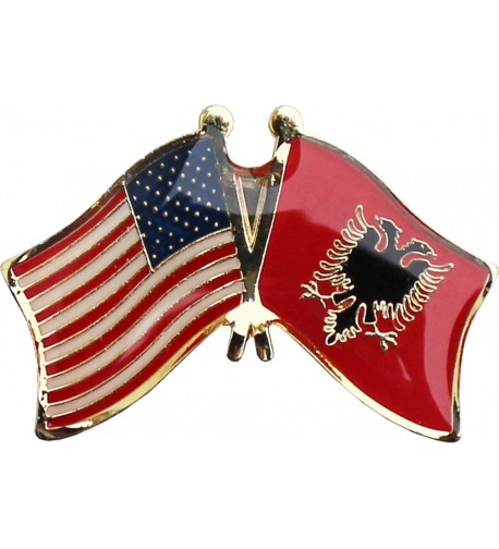 Flagline Albania Friendship Pin