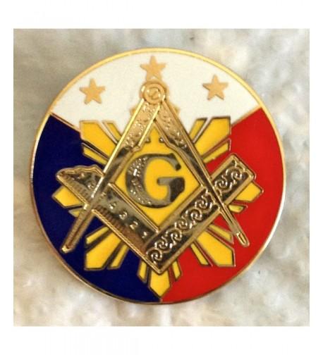 GL Engraving LP1 Masonic Lapel