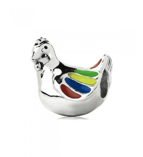 Sterling Chicken Pandora Chamilia Bracelet