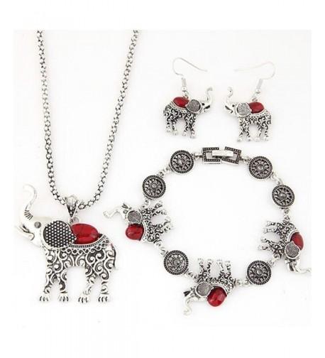 Dreamyth Jewelry Necklace Bracelet Elephant