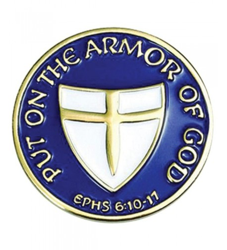 Armor God Lapel Pin B 110