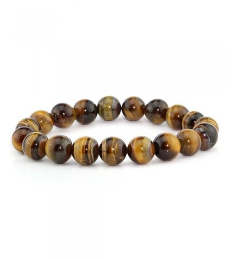 Natural Lucky Gemstone Stretchy Bracelet