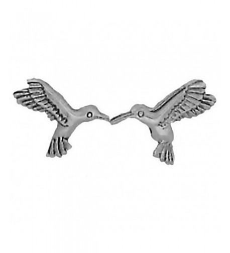 Corinna Maria Sterling Hummingbird Earrings Stainless