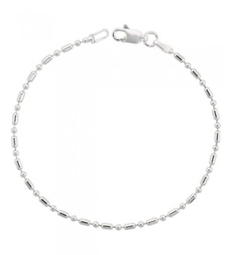 Sterling Silver Pallini Bracelet Nickel