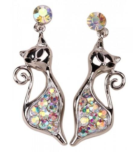 YACQ Jewelry Crystal Earrings Halloween