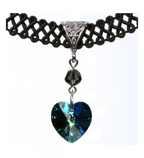 Twilights Fancy Swarovski Crystal Necklace