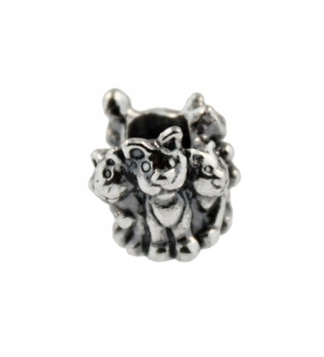 Authentic Trollbeads Sterling 11354 Kittens