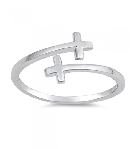 Criss Christian Flexible Sterling Silver